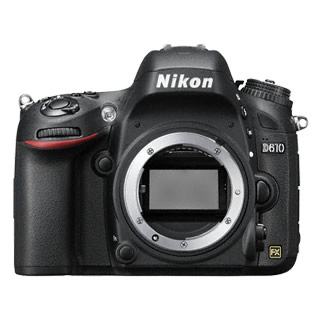 Nikon D610 Digital SLR Camera Body