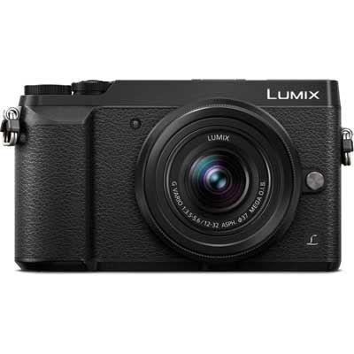 Panasonic Lumix DMC-GX80 Digital Camera with 12-32mm Lens
